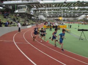 Matthias kurz nach dem Start