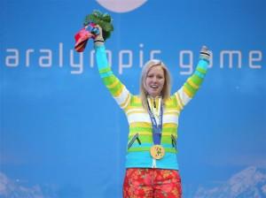 Die stolze Siegerin Andrea Rothfuss
