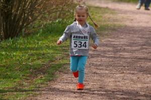 Jüngste Teilnehmerin Zoe Merz Jg. 2011