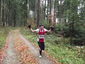 Esmat konnte schon 400m vor dem Ziel jubeln