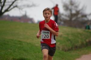 Sieger des 3. Laufes 1280m Kai Lehr