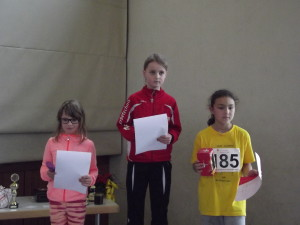 Die stolze Siegerin Lilli Marie Moser