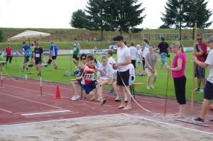 Florian springt 3,13m