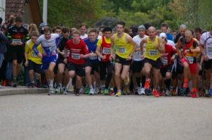 Start zum 10,3 km Lauf